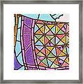 Quilts Online Framed Print