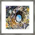 Rabbit Hole Or Robin Egg Framed Print