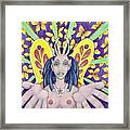 Radiant Butterflies Framed Print