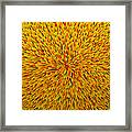 Radiation Yellow  Framed Print