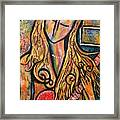 Rain Song Framed Print by Chaline Ouellet