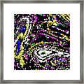 Rainbow Flurry Art Framed Print
