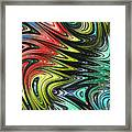 Rainbow In Abstract 05 Framed Print