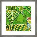 Rainforest Buds Framed Print