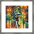 Rainy Dance Framed Print