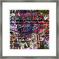 Random 514  Framed Print