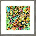 Random Cells 5 Framed Print