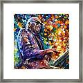 Ray Charles Framed Print