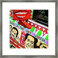 Rear View Mirror Of The Car-nola Framed Print