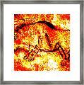 Red Auroch Framed Print