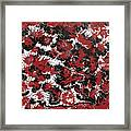 Red Devil U - Original Framed Print