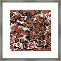 Red Devil U - V1cg62 Framed Print