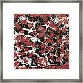 Red Devil U - V1lw64 Framed Print
