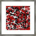 Red Devil U - V1vhkf100 Framed Print