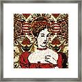 Red Queen Baroque Framed Print