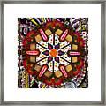 Regal Mandala Framed Print