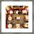 Restaurant Palais Des Merinides Fes Morocco Paint  Framed Print
