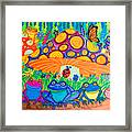 Return To Happy Frog Meadow Framed Print