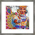 Rex Rides In New Orleans Framed Print