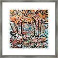 Rhythm Of The Forest Framed Print