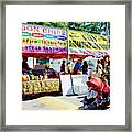 Ribbon Chips Framed Print