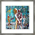 Right Here Right Now Framed Print