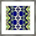 Riverdale Blue Green Framed Print