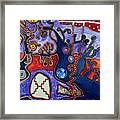 Rivers Of Arcturian Emination Framed Print