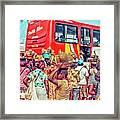 Road Market II Framed Print
