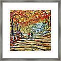 Road Of Life  Fine Art Framed Print