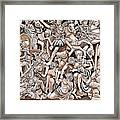 Romans And Barbarians Framed Print