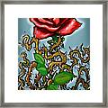 Rose N Thorns Framed Print