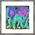 Roses And Lemons Framed Print