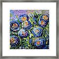 Roses Are Blue  Framed Print