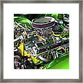 Rumble Engine Framed Print