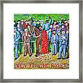 Run For The Roses Framed Print