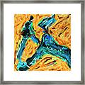 Runners 2 Framed Print