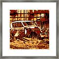 Rural Rust Framed Print