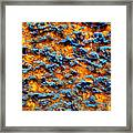 Rust Abstract 6 Framed Print