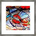 Sackettdoodles Butterfly Framed Print