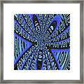 Saguaro Forest Abstract #2 Framed Print