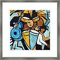Salsa Night Framed Print