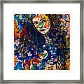 Samanthaa Framed Print