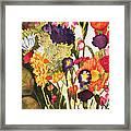 Sam's Flowers Framed Print