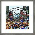 San Gennaro Festival Framed Print
