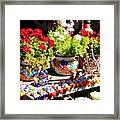 Santa Fe Color Framed Print