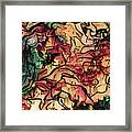 Sargam Abstract A1 Framed Print