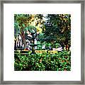 Savannah Square Framed Print