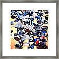 Saying It Again - Quietly  Framed Print