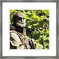 Sculpture On Torcello In Venice Framed Print